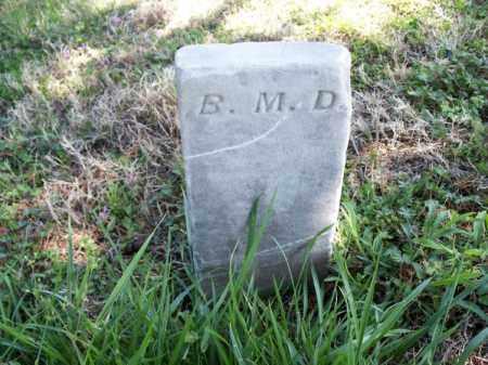 D., B. M. - Montgomery County, Kansas | B. M. D. - Kansas Gravestone Photos