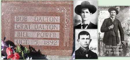 DALTON, GRATTAN (FAMOUS) - Montgomery County, Kansas | GRATTAN (FAMOUS) DALTON - Kansas Gravestone Photos