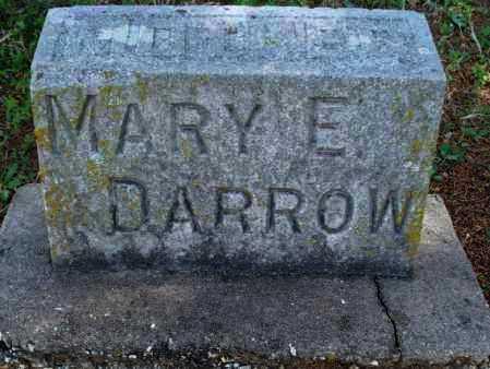DARROW, MARY E - Montgomery County, Kansas | MARY E DARROW - Kansas Gravestone Photos