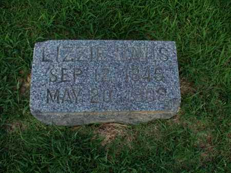 DAVIS, LIZZIE - Montgomery County, Kansas   LIZZIE DAVIS - Kansas Gravestone Photos