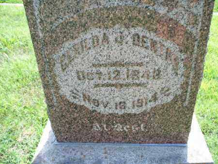 DENTON, GLENDA - Montgomery County, Kansas | GLENDA DENTON - Kansas Gravestone Photos