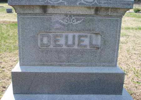 DEUEL FAMILY STONE,  - Montgomery County, Kansas |  DEUEL FAMILY STONE - Kansas Gravestone Photos