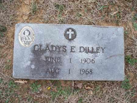 DILLEY, GLADYS E - Montgomery County, Kansas | GLADYS E DILLEY - Kansas Gravestone Photos