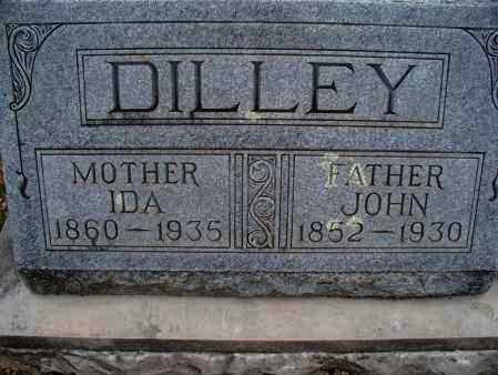 DILLEY, JOHN - Montgomery County, Kansas | JOHN DILLEY - Kansas Gravestone Photos