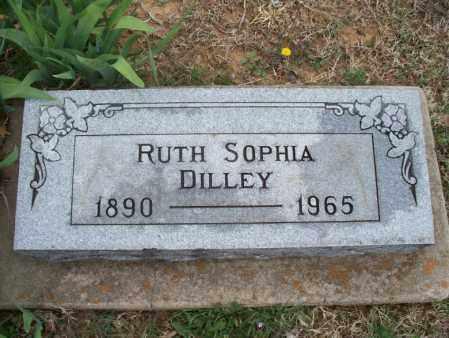 DILLEY, RUTH SOPHIA - Montgomery County, Kansas   RUTH SOPHIA DILLEY - Kansas Gravestone Photos