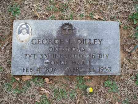 DILLEY, GEORGE  (VETERAN WWI) - Montgomery County, Kansas   GEORGE  (VETERAN WWI) DILLEY - Kansas Gravestone Photos