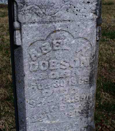DOBSON, ABEL W. - Montgomery County, Kansas | ABEL W. DOBSON - Kansas Gravestone Photos