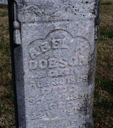 DOBSON, ABEL W - Montgomery County, Kansas | ABEL W DOBSON - Kansas Gravestone Photos