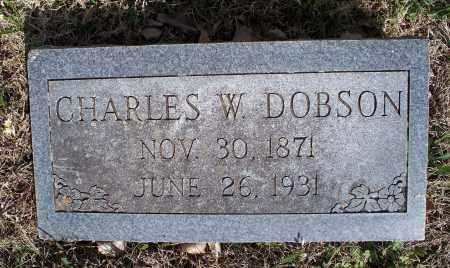 DOBSON, CHARLES W. - Montgomery County, Kansas | CHARLES W. DOBSON - Kansas Gravestone Photos