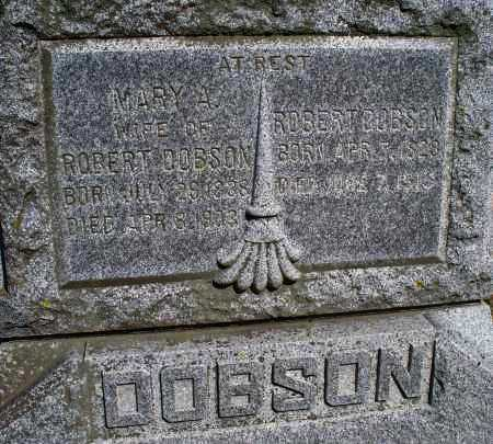 DOBSON, ROBERT - Montgomery County, Kansas | ROBERT DOBSON - Kansas Gravestone Photos