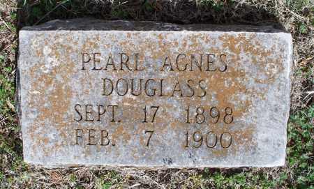 DOUGLASS, PEARL AGNES - Montgomery County, Kansas | PEARL AGNES DOUGLASS - Kansas Gravestone Photos