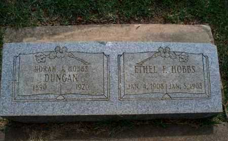 HOBBS, ETHEL F - Montgomery County, Kansas | ETHEL F HOBBS - Kansas Gravestone Photos