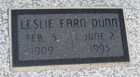 DUNN, LESLIE - Montgomery County, Kansas   LESLIE DUNN - Kansas Gravestone Photos