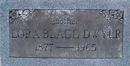 BLAGG DWYER, LORA - Montgomery County, Kansas   LORA BLAGG DWYER - Kansas Gravestone Photos