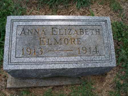ELMORE, ANNA ELIZABETH - Montgomery County, Kansas   ANNA ELIZABETH ELMORE - Kansas Gravestone Photos