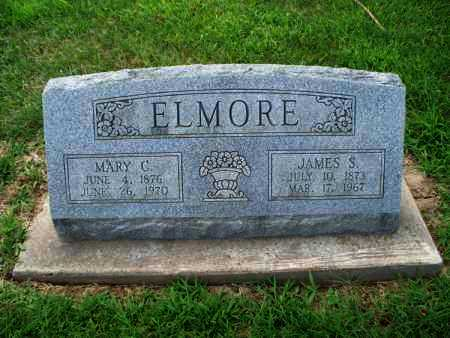 ELMORE, JAMES S - Montgomery County, Kansas | JAMES S ELMORE - Kansas Gravestone Photos