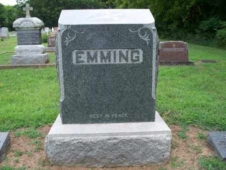 EMMING FAMILY STONE,  - Montgomery County, Kansas |  EMMING FAMILY STONE - Kansas Gravestone Photos