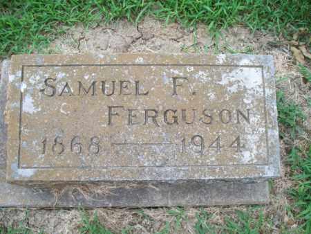 FERGUSON, SAMUEL F. - Montgomery County, Kansas   SAMUEL F. FERGUSON - Kansas Gravestone Photos