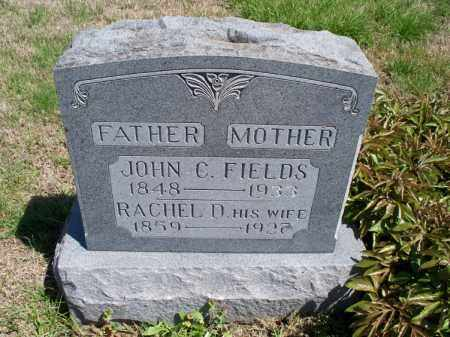 FIELDS, JOHN C - Montgomery County, Kansas | JOHN C FIELDS - Kansas Gravestone Photos