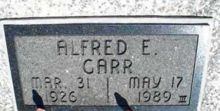 GARR, ALFRED E. - Montgomery County, Kansas | ALFRED E. GARR - Kansas Gravestone Photos