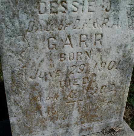 GARR, DESSIE J. - Montgomery County, Kansas | DESSIE J. GARR - Kansas Gravestone Photos