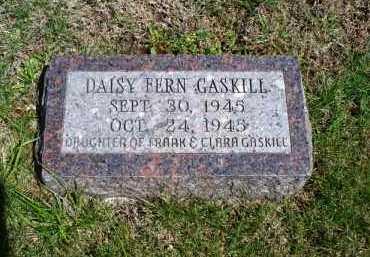 GASKILL, DAISY FERN - Montgomery County, Kansas | DAISY FERN GASKILL - Kansas Gravestone Photos