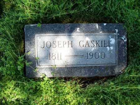 GASKILL, JOSEPH - Montgomery County, Kansas | JOSEPH GASKILL - Kansas Gravestone Photos