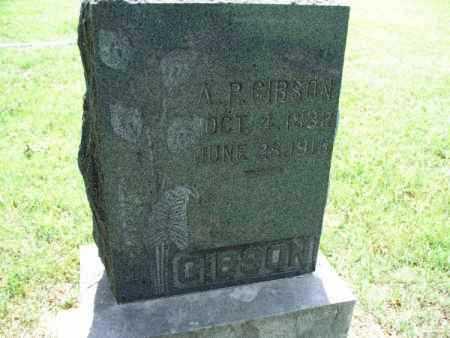 GIBSON, A. P. - Montgomery County, Kansas | A. P. GIBSON - Kansas Gravestone Photos