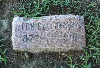 GRAVES, BERNICE - Montgomery County, Kansas | BERNICE GRAVES - Kansas Gravestone Photos