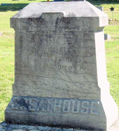 GREATHOUSE, ANNA E - Montgomery County, Kansas   ANNA E GREATHOUSE - Kansas Gravestone Photos