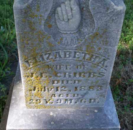GRIBBS, ELIZABETH A. - Montgomery County, Kansas   ELIZABETH A. GRIBBS - Kansas Gravestone Photos