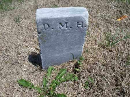 H., D. M. - Montgomery County, Kansas | D. M. H. - Kansas Gravestone Photos