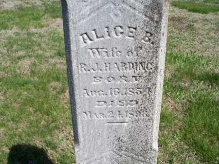 HARDING, ALICE B. - Montgomery County, Kansas | ALICE B. HARDING - Kansas Gravestone Photos