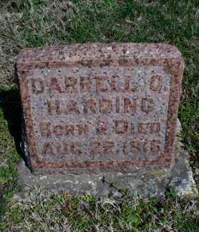 HARDING, DARRELL C - Montgomery County, Kansas | DARRELL C HARDING - Kansas Gravestone Photos