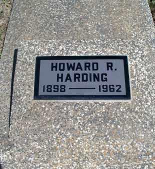 HARDING, HOWARD R. - Montgomery County, Kansas | HOWARD R. HARDING - Kansas Gravestone Photos