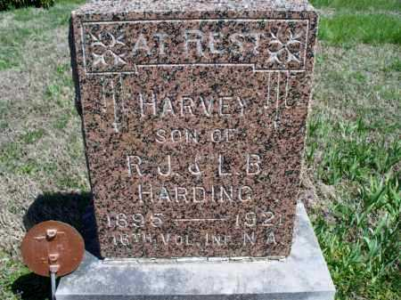 HARDING, HARVEY C  (VETERAN WWI) - Montgomery County, Kansas   HARVEY C  (VETERAN WWI) HARDING - Kansas Gravestone Photos