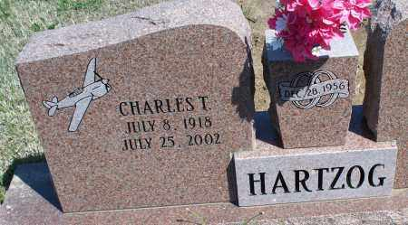 HARTZOG, CHARLES T. - Montgomery County, Kansas | CHARLES T. HARTZOG - Kansas Gravestone Photos