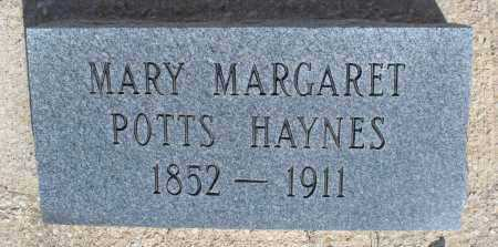 HAYNES, MARY MARGARET - Montgomery County, Kansas | MARY MARGARET HAYNES - Kansas Gravestone Photos