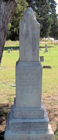 HICKS, PHILLIP - Montgomery County, Kansas   PHILLIP HICKS - Kansas Gravestone Photos