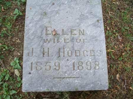 HODGES, ELLEN - Montgomery County, Kansas | ELLEN HODGES - Kansas Gravestone Photos