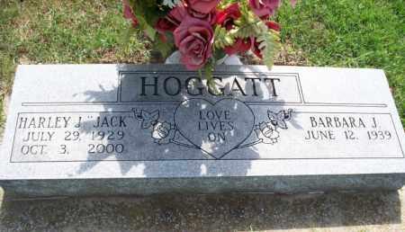 """HOGGATT, HARLEY J. """"JACK"""" - Montgomery County, Kansas   HARLEY J. """"JACK"""" HOGGATT - Kansas Gravestone Photos"""