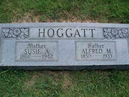 HOGGATT, ALFRED M - Montgomery County, Kansas | ALFRED M HOGGATT - Kansas Gravestone Photos