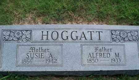 HOGGATT, SUSIE A. - Montgomery County, Kansas   SUSIE A. HOGGATT - Kansas Gravestone Photos