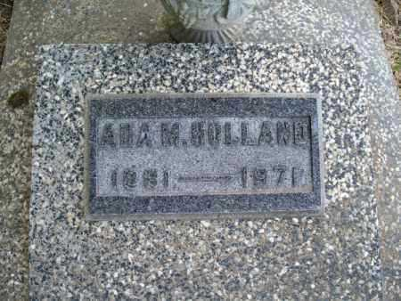 HOLLAND, ADA M. - Montgomery County, Kansas   ADA M. HOLLAND - Kansas Gravestone Photos