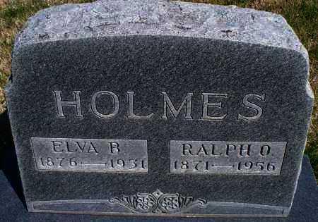 HOLMES, ELVA B. - Montgomery County, Kansas | ELVA B. HOLMES - Kansas Gravestone Photos