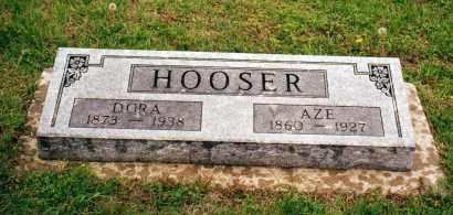 HOOSER, AZRAEL - Montgomery County, Kansas | AZRAEL HOOSER - Kansas Gravestone Photos