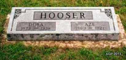 HOOSER, DORA - Montgomery County, Kansas   DORA HOOSER - Kansas Gravestone Photos