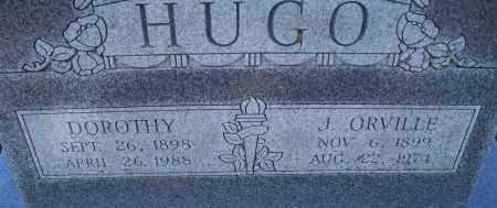 HUGO, DOROTHY - Montgomery County, Kansas | DOROTHY HUGO - Kansas Gravestone Photos