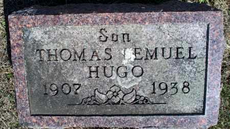 HUGO, THOMAS LEMUEL - Montgomery County, Kansas | THOMAS LEMUEL HUGO - Kansas Gravestone Photos