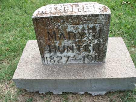 HUNTER, MARY J. - Montgomery County, Kansas | MARY J. HUNTER - Kansas Gravestone Photos